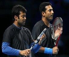 Bhupathi and Paes crash out of ATP World Tour finals