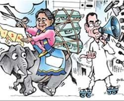 UP 'Mayabazaar' to shape national politics