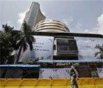 Sensex snaps 3-day losing streak, up 96 points