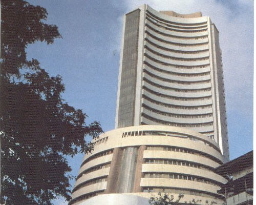 Sensex down 57 pts on profit booking in volatile trade