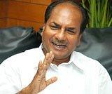 Antony blames Army for chief's age row