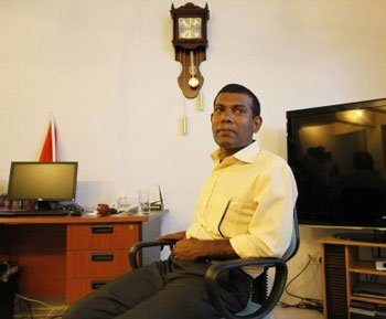 Nasheed sees ex-dictator Gayoom's network behind his ouster