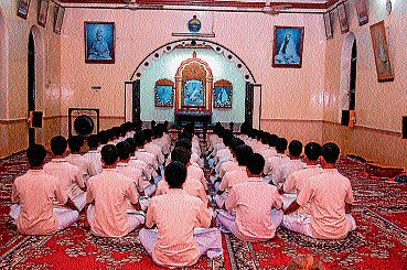 An ashram for learning  culture