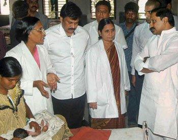 Ten die in AP govt hospitals
