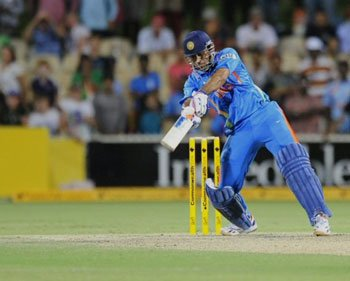 India secure tie in tense finish