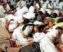 Nurses pull an all-nighter to open govt's eyes
