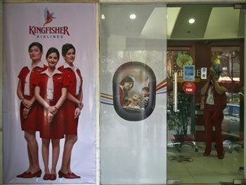 Kingfisher Airlines net loss jumps to Rs 446 cr
