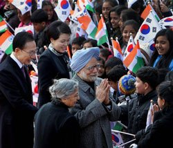 PM invites Korean investments in solar, nuclear sectors