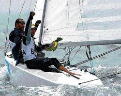 Sailing stars from Brazil