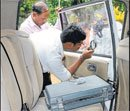 Rs 2-crore robbed from bank vehicle