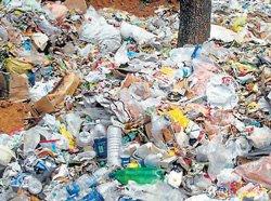 Waste contaminates water sources in Sullia