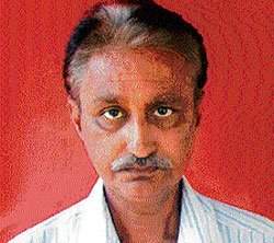 Theatre personality  Enagi Nataraj no more