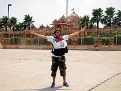 Globetrotting for peace and harmony