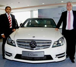 Mercedes launches new C Class AMG for Rs 35 lakh