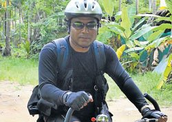 Cycling for a cause