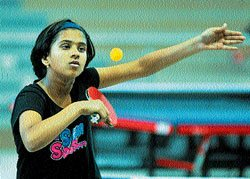 State ranking table tennis  tournament begins
