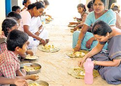 Students gripped by fear over midday meal
