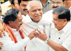 Berth pangs for Shettar govt