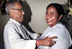 Mamata to support Pranab for Prez post
