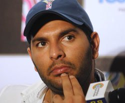 Yuvraj in India's World T20 probables list