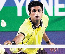 Persistence pays off for calm Diju