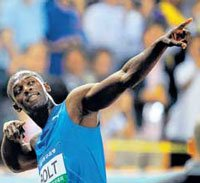 Usain Bolt's $23,500-statue points the wrong way