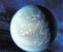 Planet that supports life found