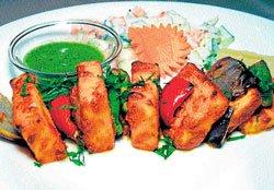 A kebab palace for vegetarians