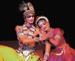 Krishna is back on stage