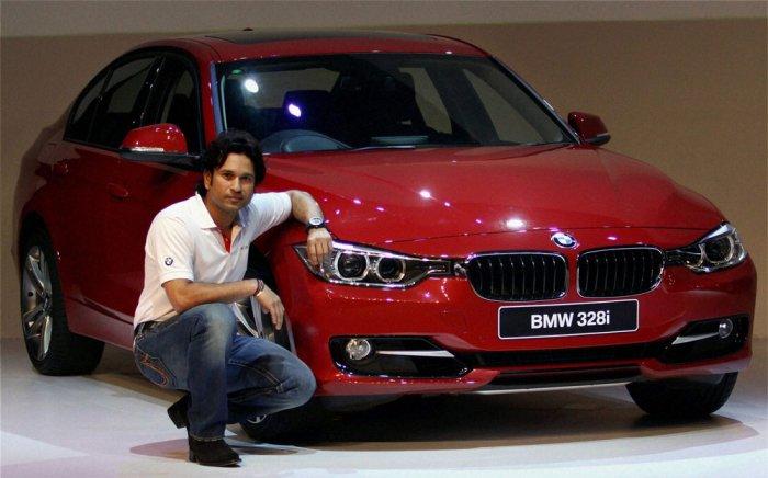 Sachin unveils all-new BMW 3 series
