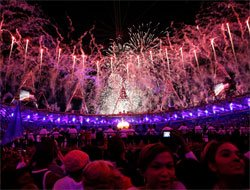 Star-studded audience for Olympic opening ceremony
