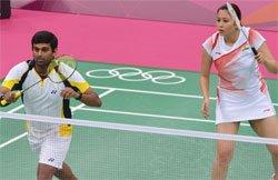 Olympic Badminton: Jwala, Diju lose opener