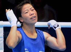 Mary Kom overcomes tough first hurdle