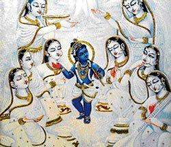 Celebrating Janmashtami