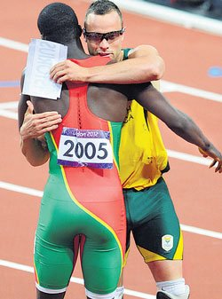 We're with you Pistorius!