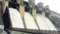 Harangi reservoir is full