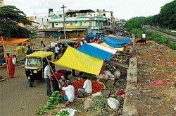 Will vegetable vendors get new roof?