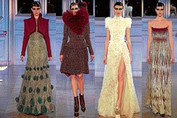 Creative strokes of fashion