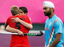 Belgium trounce India