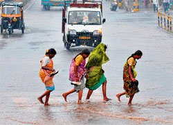IAAS predicts heavy rain in coming days