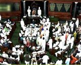 Lok Sabha adjourned over Advani's comments