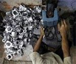 Industrial output posts negative growth