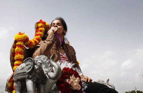 Saina rises to World No.4