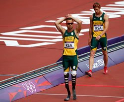 Olympics: Pistorius denied run as South Africa crash out of relay