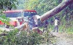High intensity rains continue in Udupi, recede in DK dist