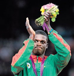Kirani can't wait to join celebrations