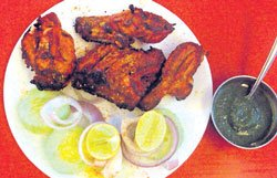 Hot dishes from Punjab