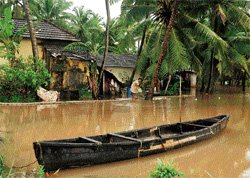 Rain continues to batter Udupi dist