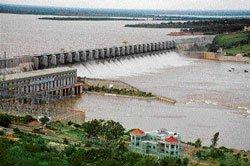Rivers overflow, bridges submerged