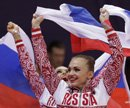 Olympic gymnastics: Russia win rhythmic gymnastics gold